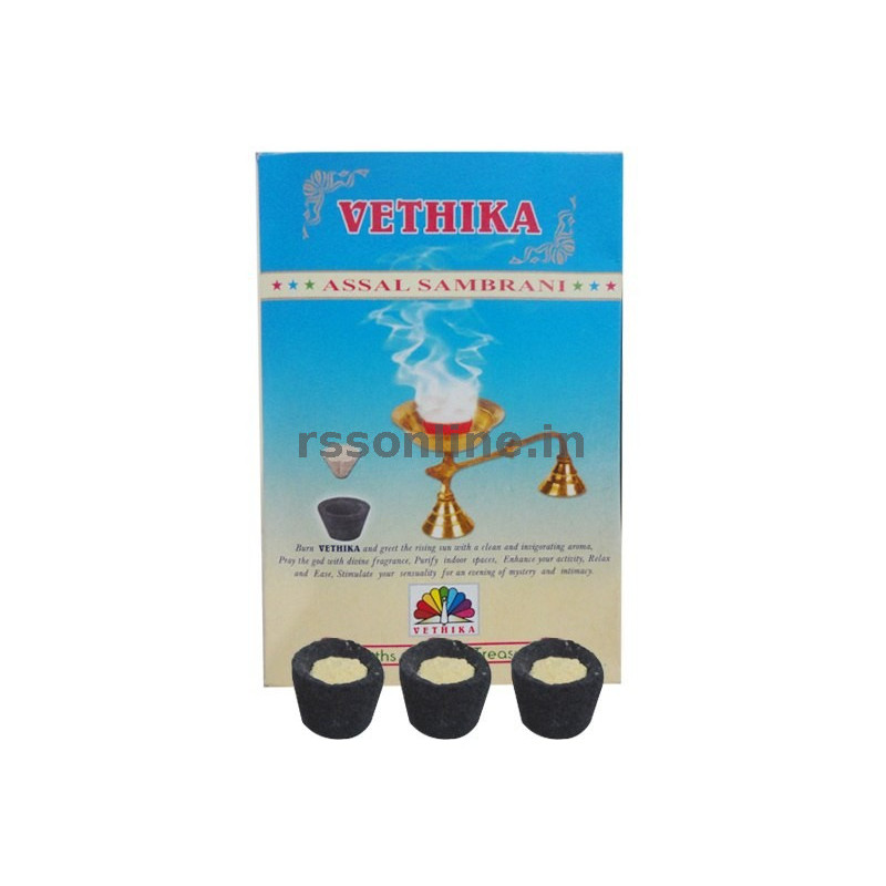 Buy Vethika Instant Cup Sambrani for Puja Samagri Homam Items Online