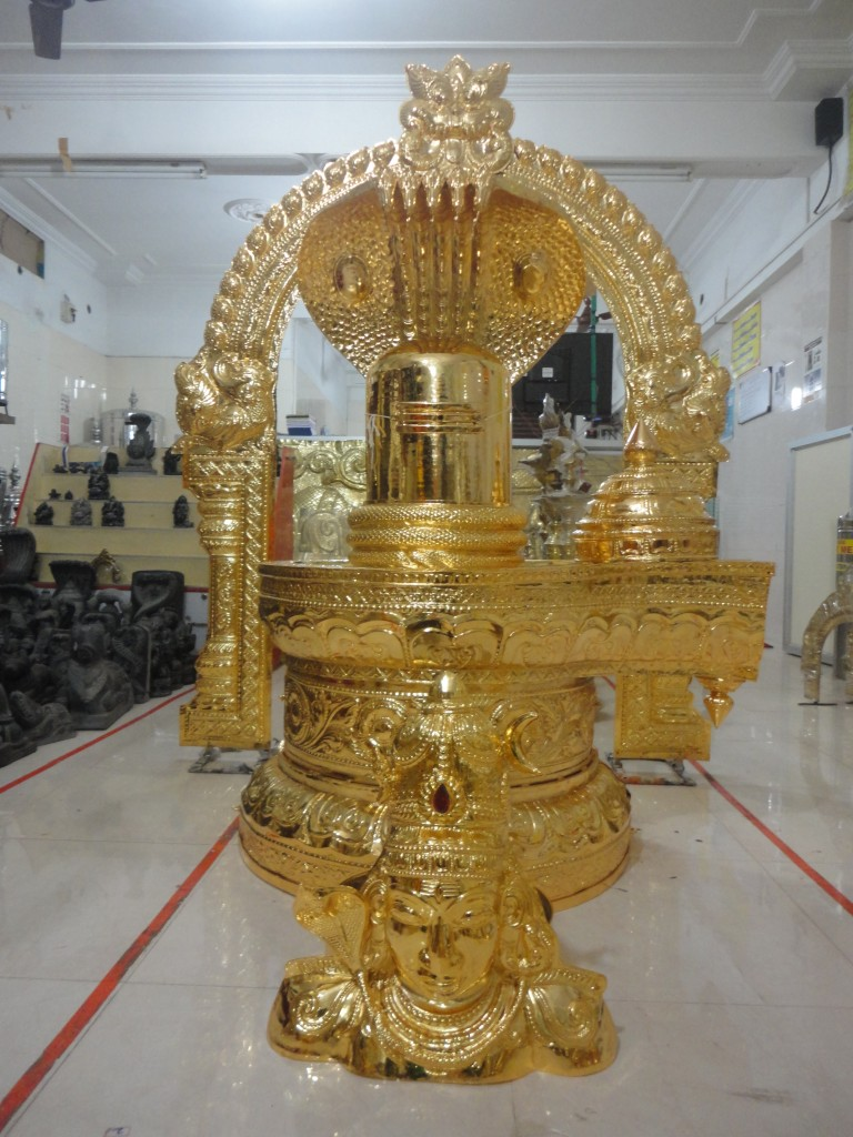Gold plated items being sent from rssonline to an American Temple