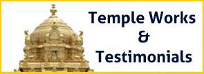 Temple Works & Testimonials